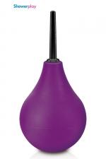 Poire à lavement Showerplay P3 - violet : Poire à lavement classique, coloris violet, contenance de 224 ml, pour votre hygiène intime.