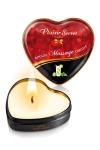 Mini bougie de massage Mojito : Bougie de massage sensuelle et gourmande au format idéal pour un massage tout en douceur. Parfum agréable et gourmand.